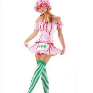 Leg avenue small sexy strawberry shortcake costume